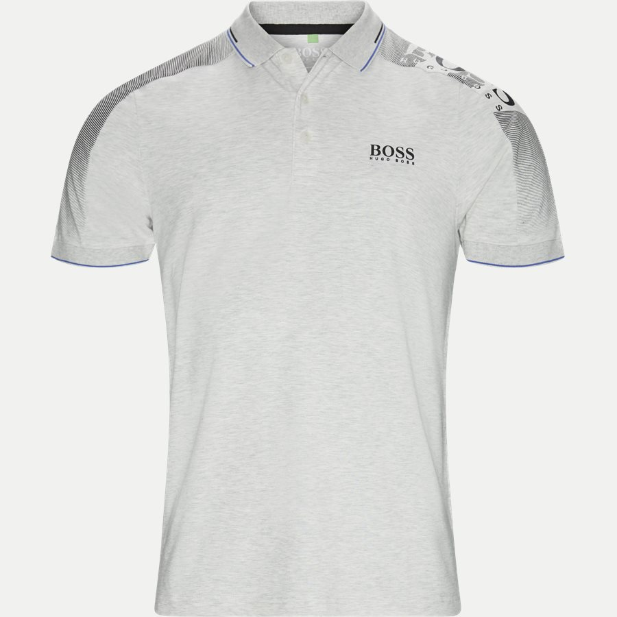 50410164 PAULE PRO - Paule Pro Polo T-shirt - T-shirts - Slim - LYS GRÅ - 1